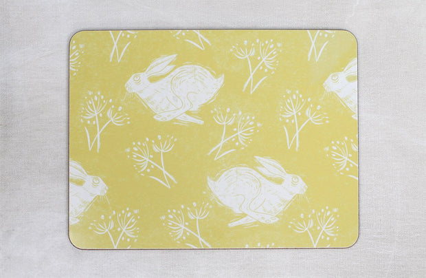 Headlong Hare Placemat