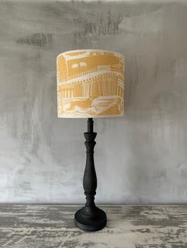 Sam Wilson Through The Fields Ochre Lampshade 14""