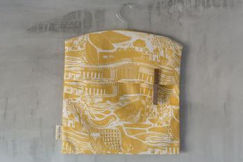 Sam Wilson Through The Fields Ochre Peg Bag