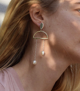 Pérola earrings