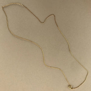 9ct gold Skinny chain