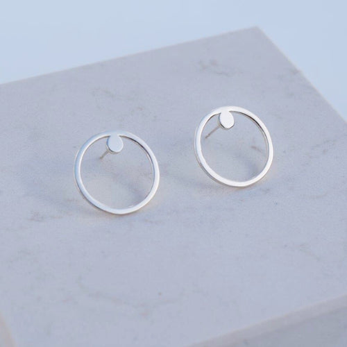 Silver Arroya earrings