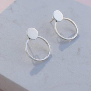 Silver Selma earrings