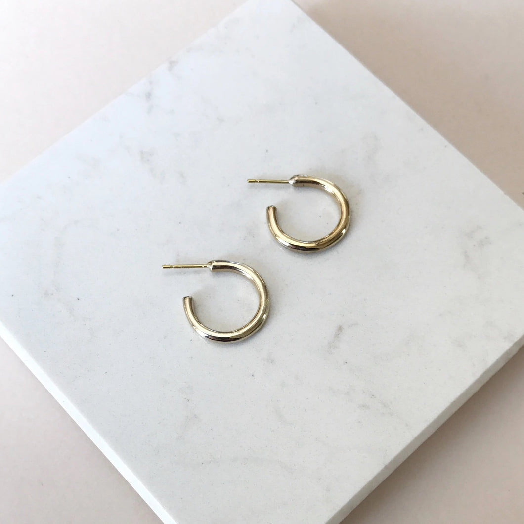 Mini skinny hoops