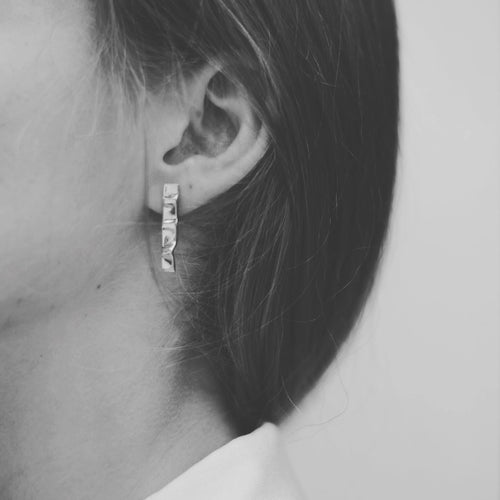 Silver Fina earrings