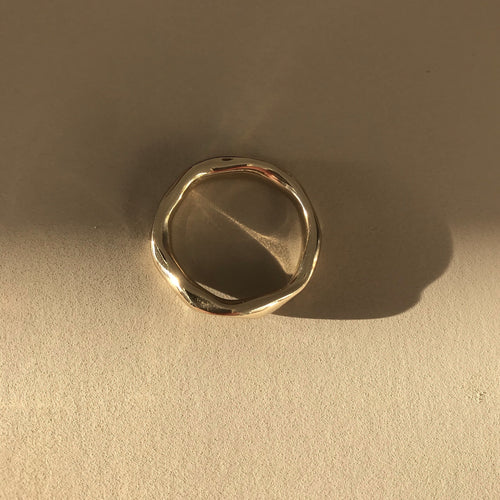 Brass Inégal ring