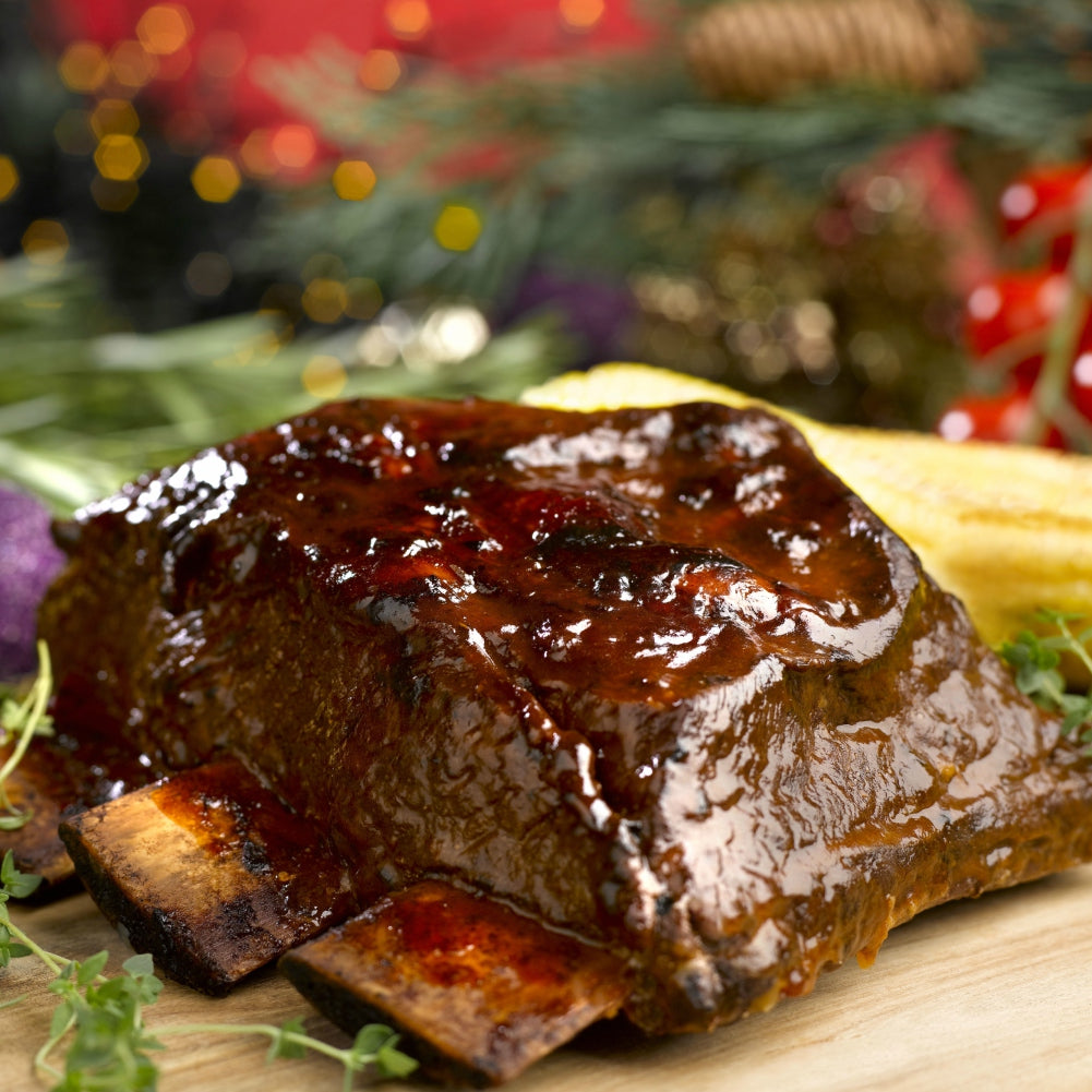 Signature BBQ Roasted Beef Ribs (2kg)