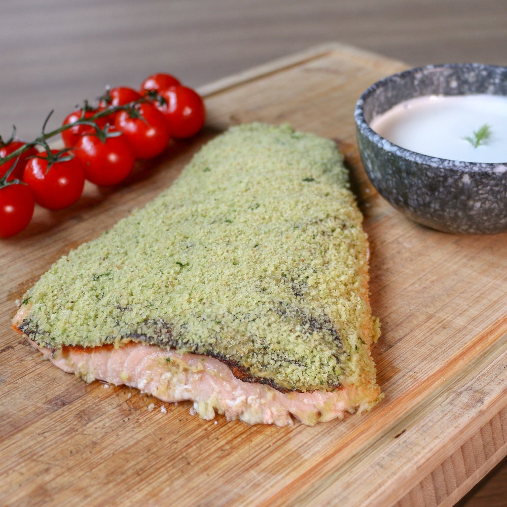 Oven Baked Dill Marinated Salmon Fillet (1kg)