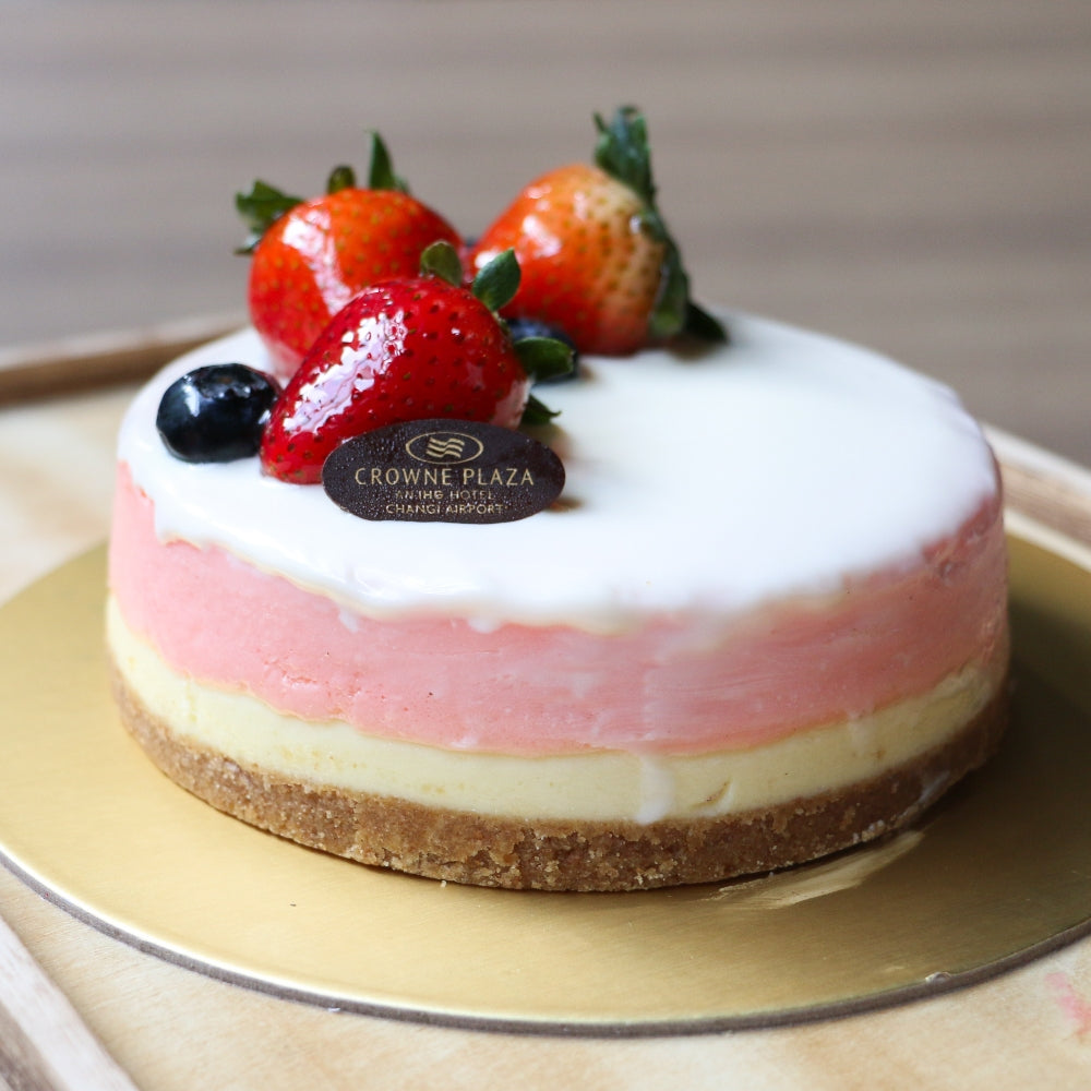 White Chocolate Rose Cheesecake (500g / 1kg)