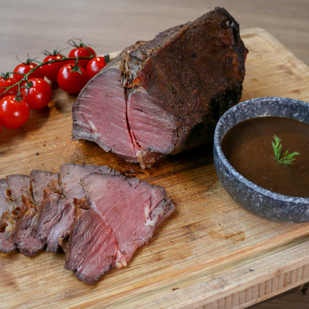 Roasted Beef Rump with Truffle Gravy (2kg)