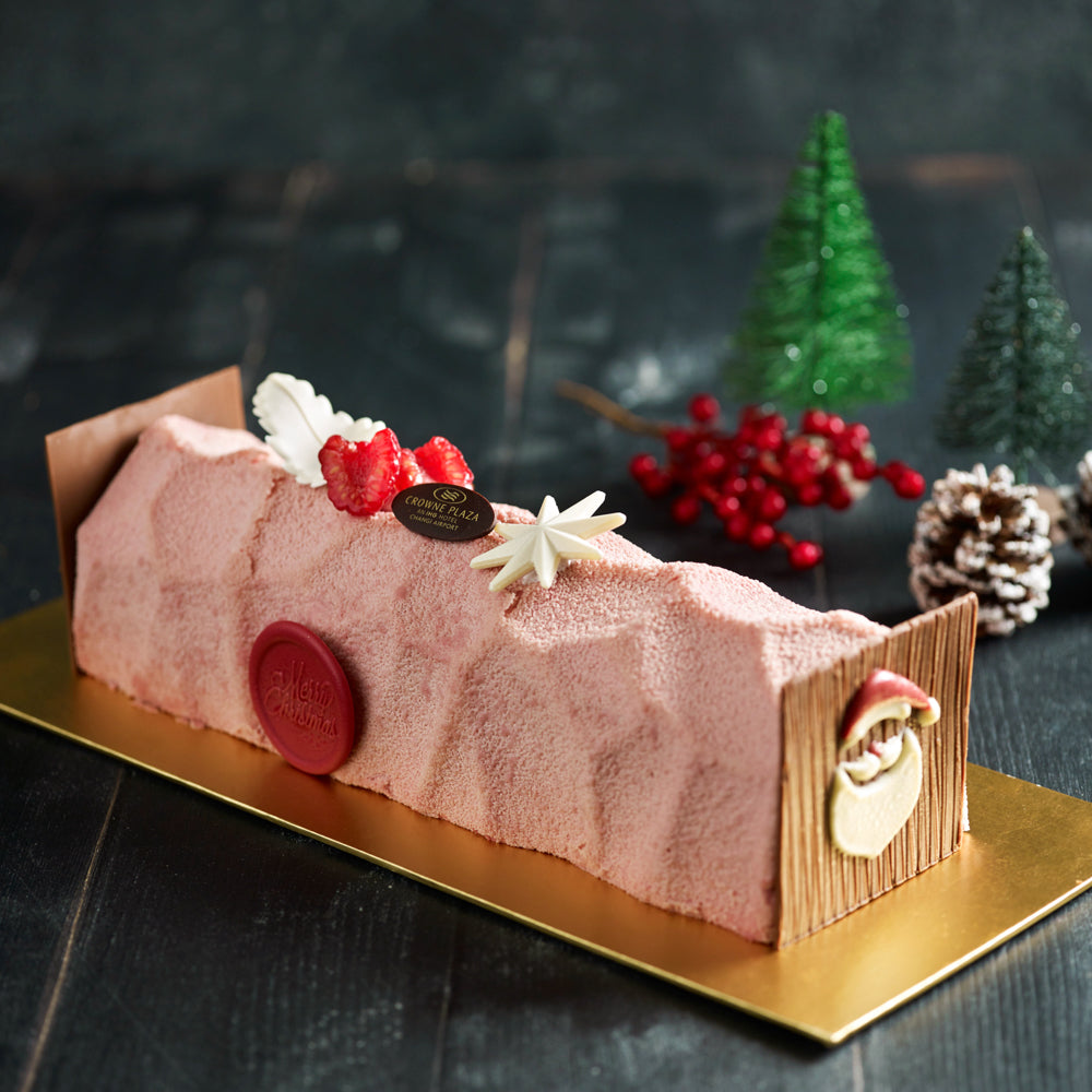 Pink Ruby Yule Log
