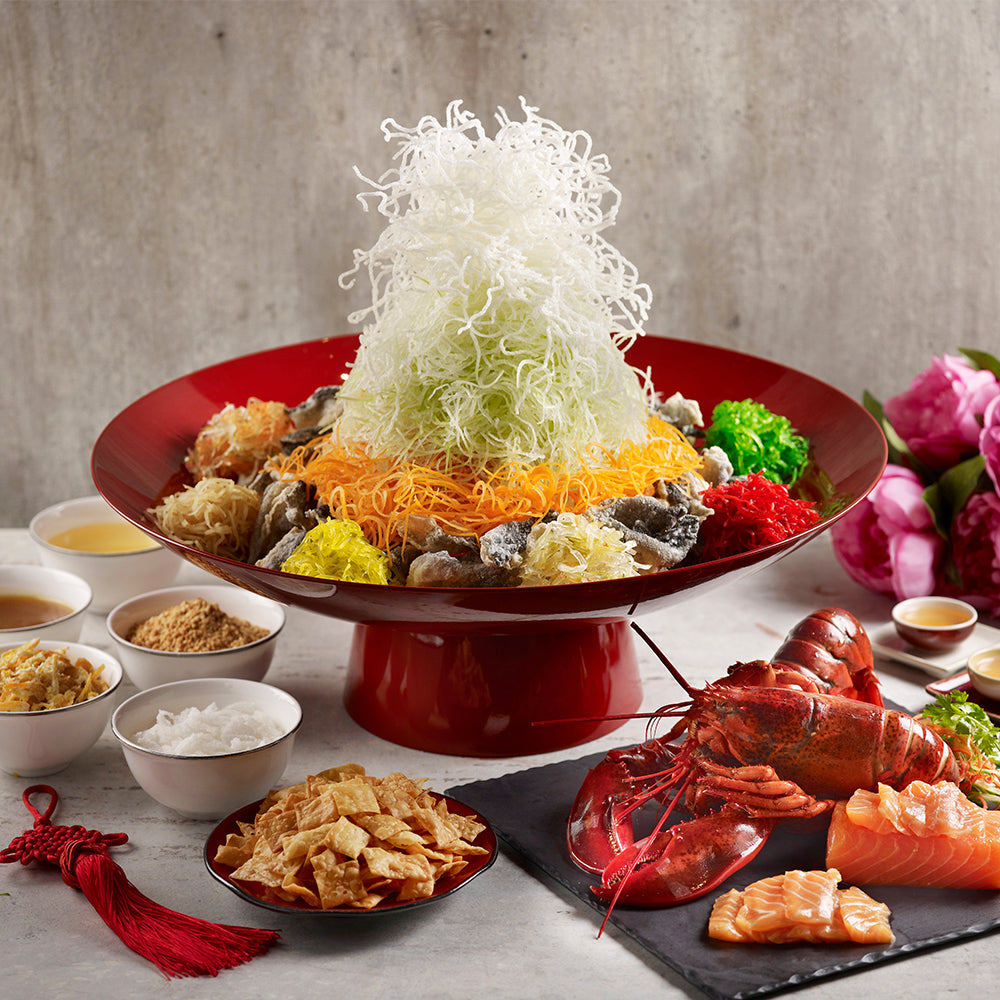Prosperity Yusheng (Norwegian Salmon / Sliced Boston Lobster / Premium)