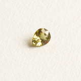 1.19ct Yellow Green Pear Cut Sapphire, loose unmounted sapphire