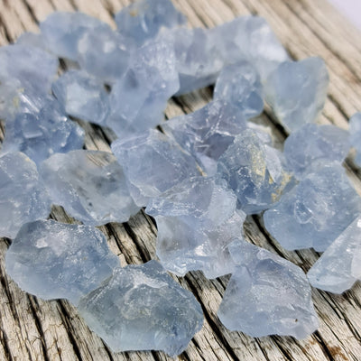 Rough Celestite Crystals