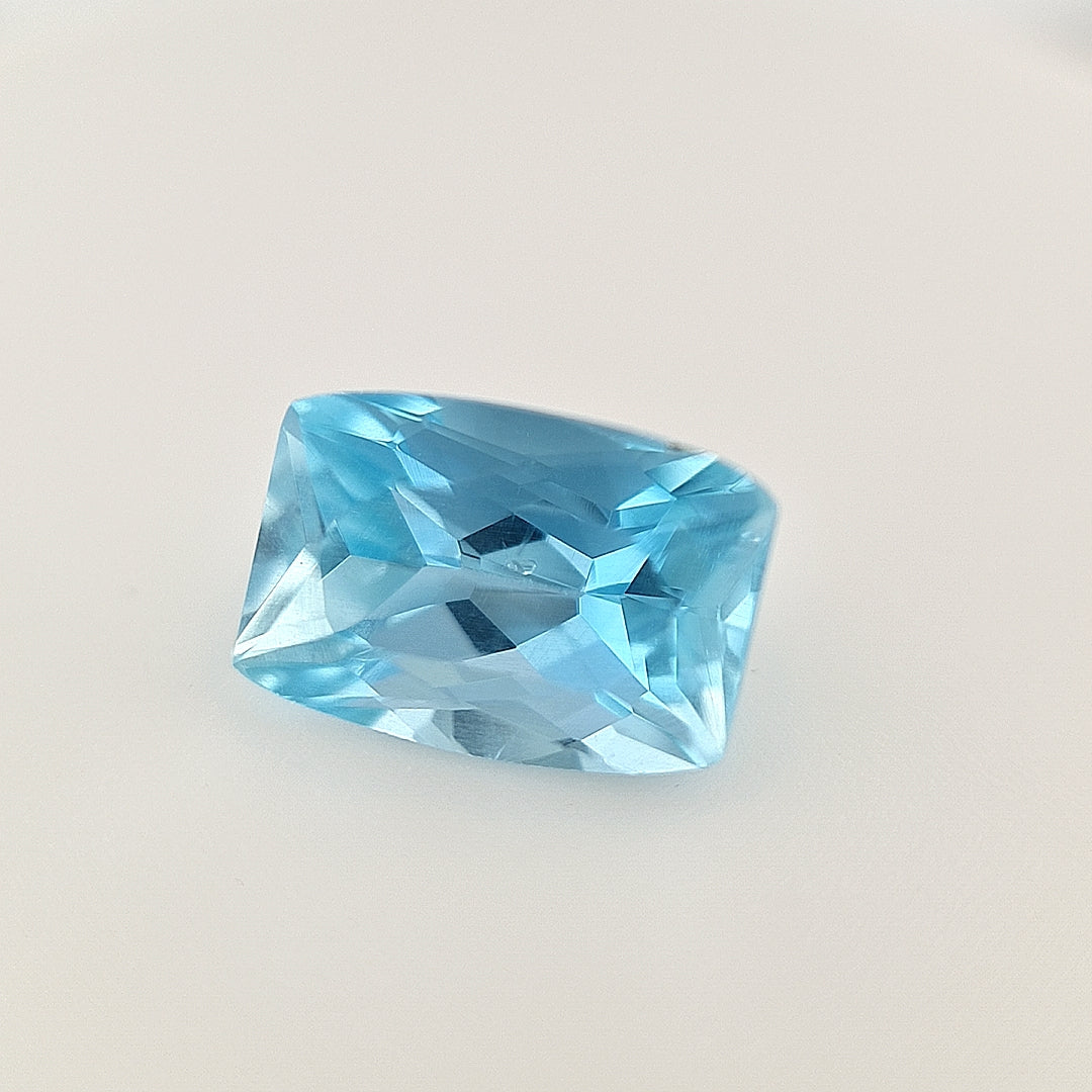 2.25ct Aquamarine Cushion Cut