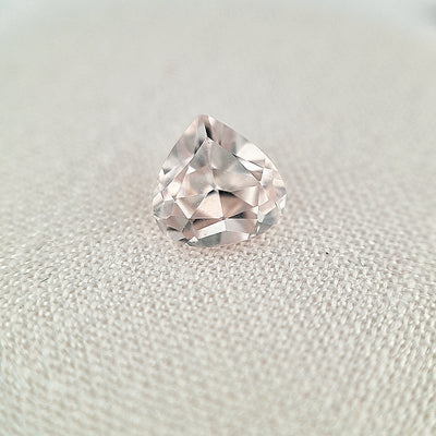 2.63ct Australian White Zircon Pear Cut