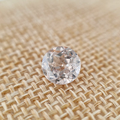 2.35ct Australian White Zircon Round Cut