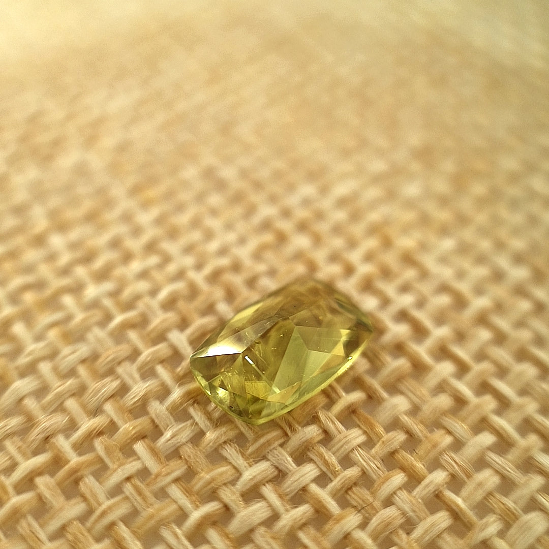 1.2ct Chrysoberyl in Cushion Cut