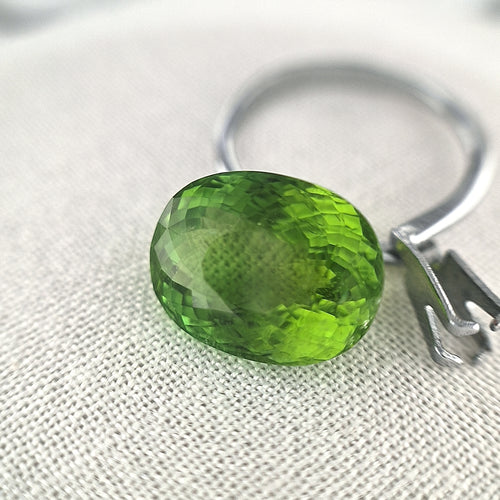 10.09ct Green Tourmaline Oval Cut