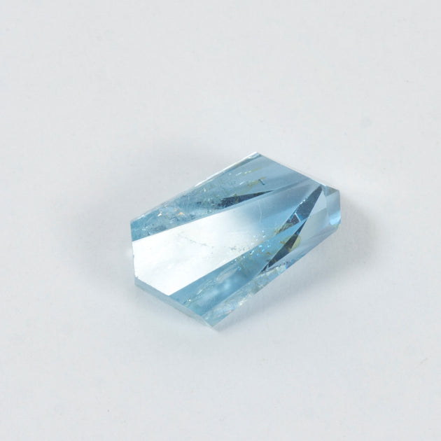 5.68ct Bespoke Geo Cut Aquamarine