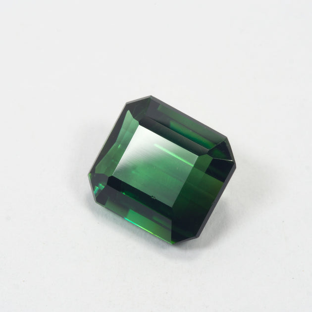 4.12ct Green Tourmaline Emerald Cut