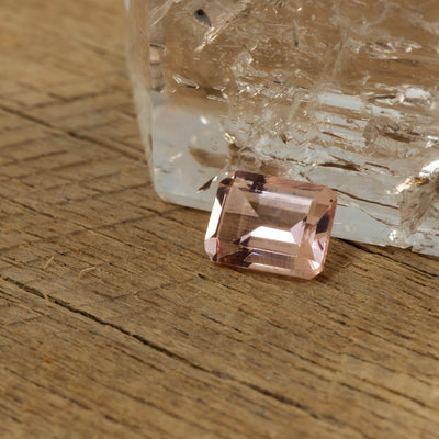 1.63ct Morganite Emerald Cut