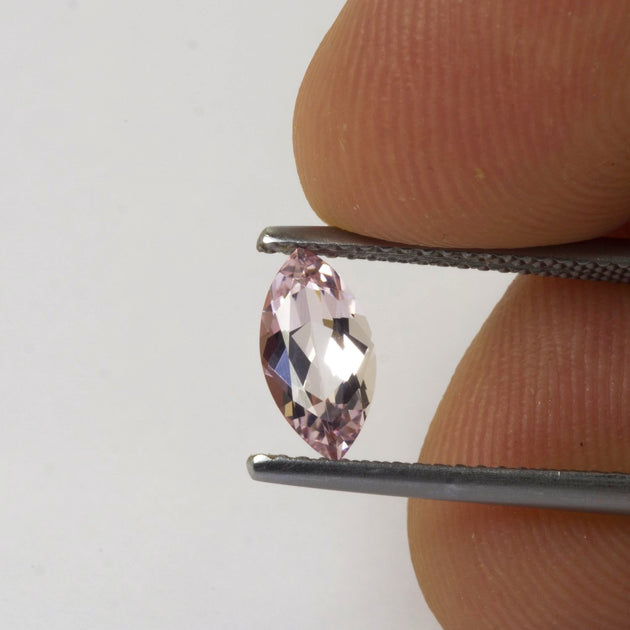 0.68ct Morganite Marquise Cut
