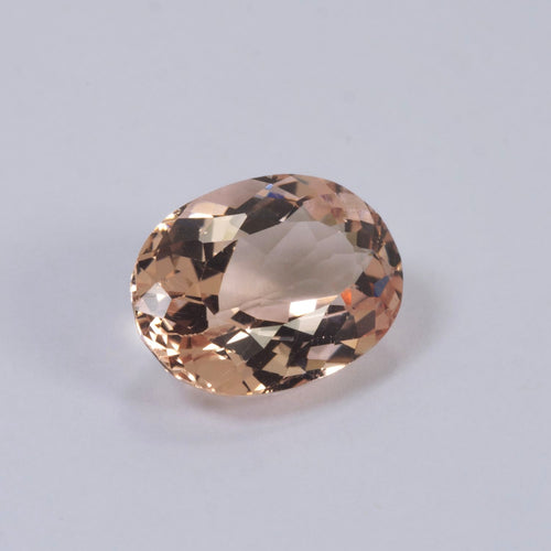 5.25ct Morganite Oval Cut