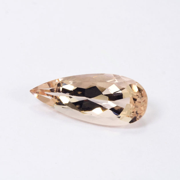 5.11ct Morganite Pear Cut