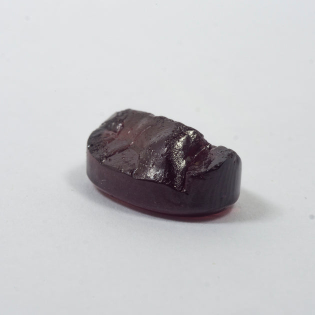 7.77ct Pyrope Garnet Oval Rough Cut