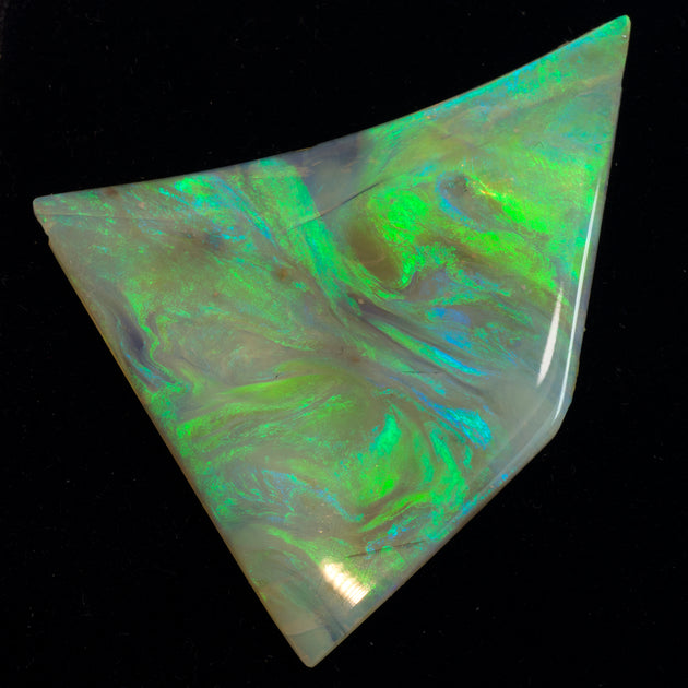47x37mm Australian Solid Opal Slice