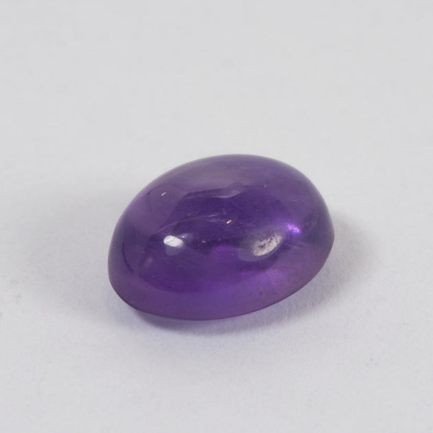 8x6mm Amethyst Oval Cabochon Cut
