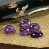9x7mm Amethyst Oval Cabochon Cut