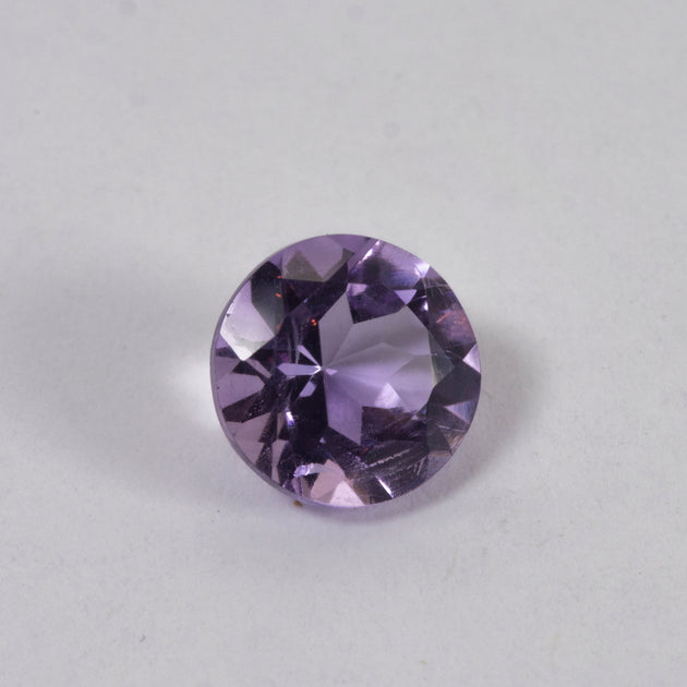 7mm Amethyst Round Cut