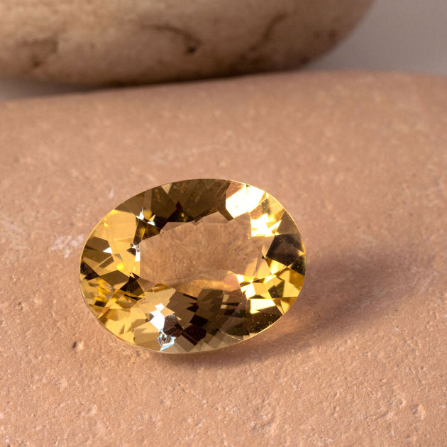 4.30ct Yellow Heliodor Oval Cut