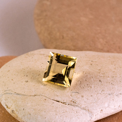 1.14ct Yellow Heliodor Square Cut