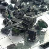 15ct+ Mixed Dark Blue/Green Tourmaline Rough Parcels