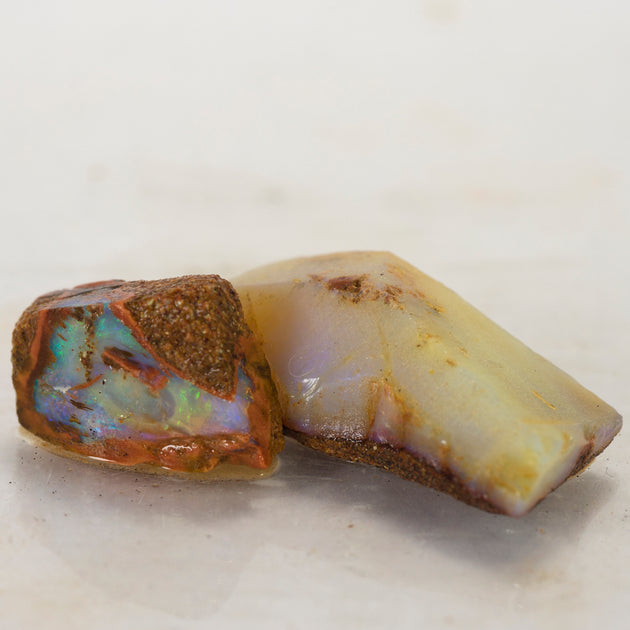 Beautiful pipe opal rub, responsibly sourced opal rough, Australian opal, collectors specimen opal, Winton opal