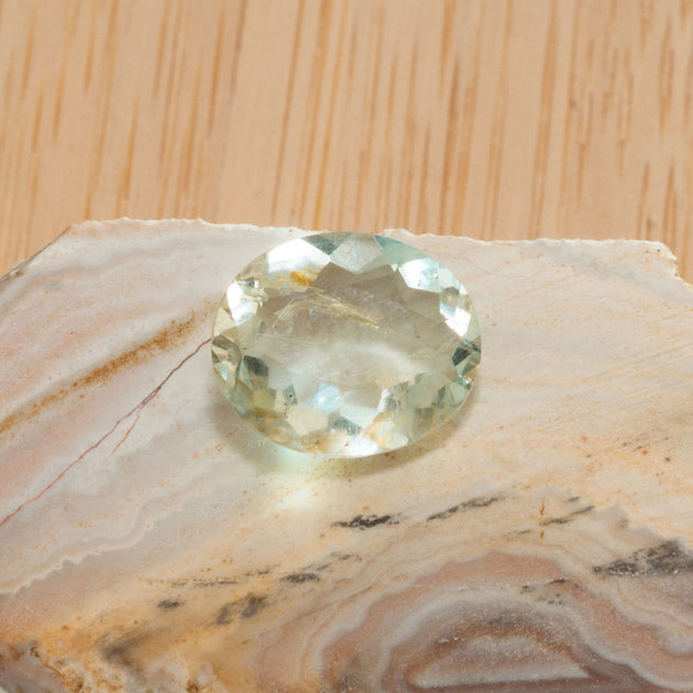 2.36ct Mint Beryl Oval Cut