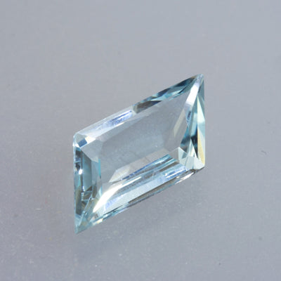 2.93ct Mixed Step Cut Aquamarine