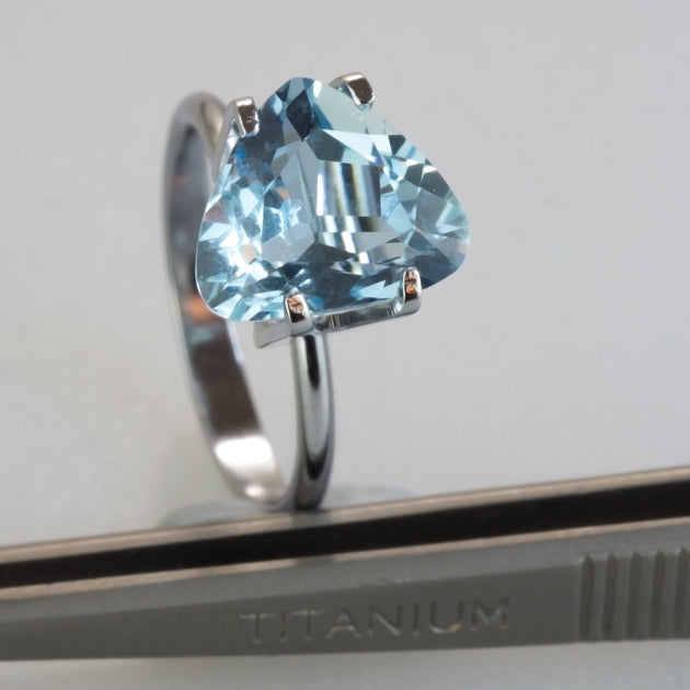 3.00ct Modified Triangular Cut Aquamarine