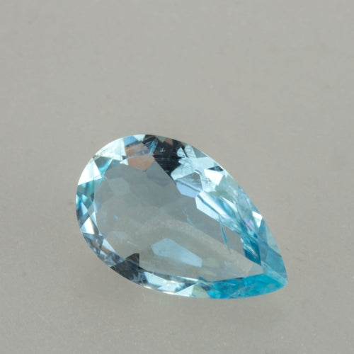3.79ct Pear Cut Aquamarine