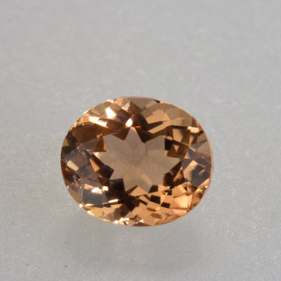 1.15ct Oval Cut Peach Orange Tourmaline