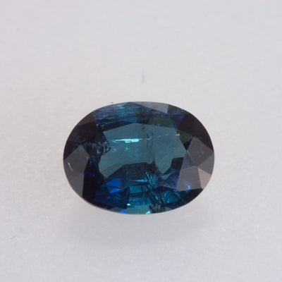 1.72ct Oval Cut Dark Blue Tourmaline