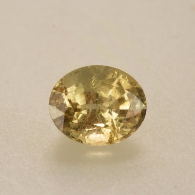 2.50ct Oval Cut Pale Golden Tourmaline