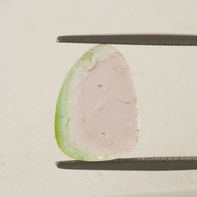 5.90ct Watermelon Tourmaline Slice