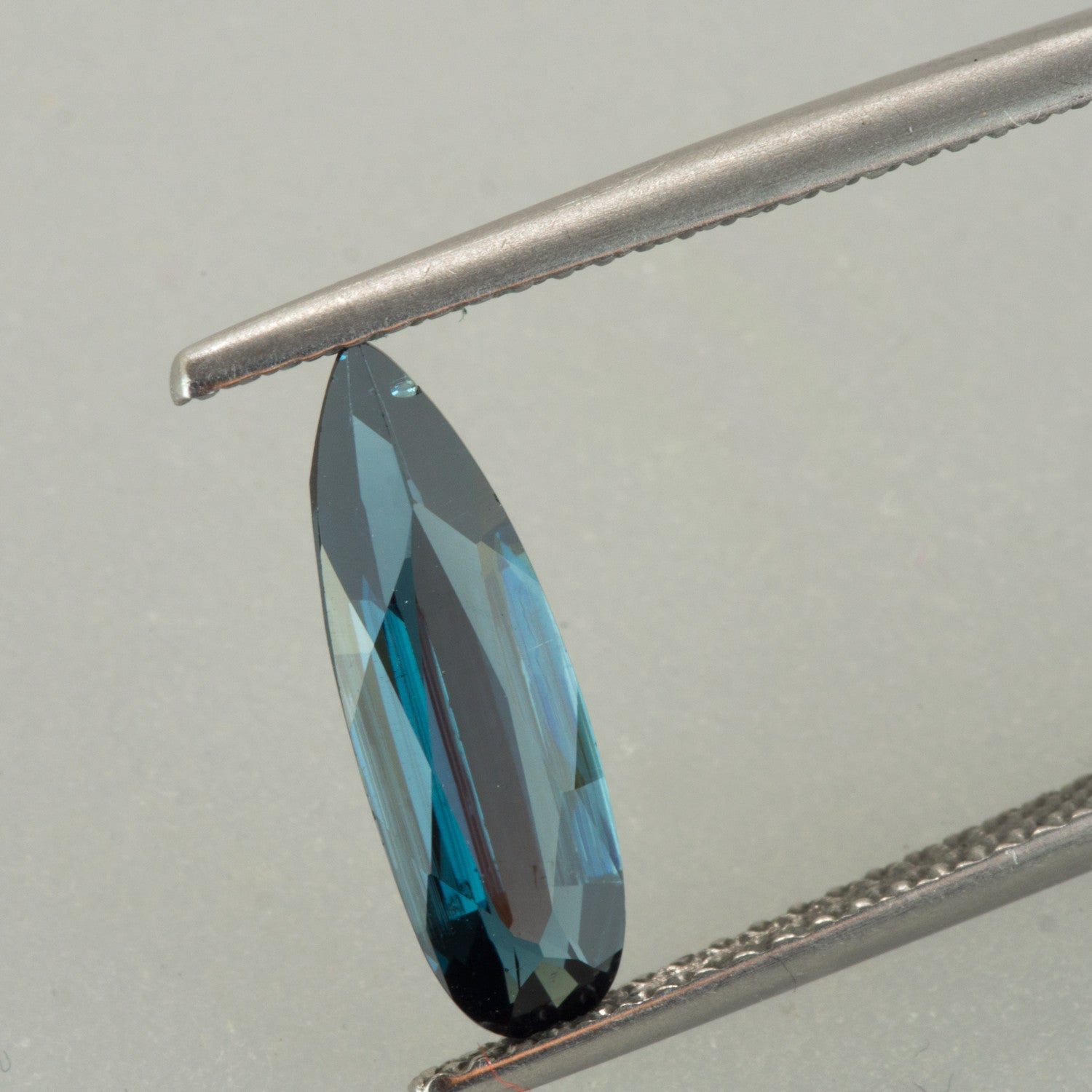 1.55ct Pear Cut Blue Tourmaline