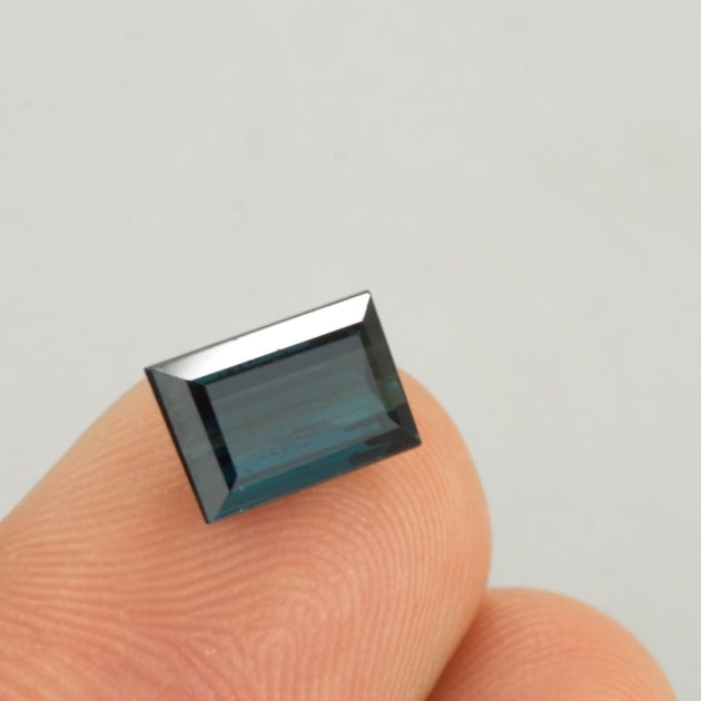 2.03ct Blue Tourmaline Baguette