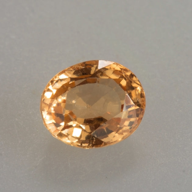 3.57ct Oval Cut Mandarin Garnet