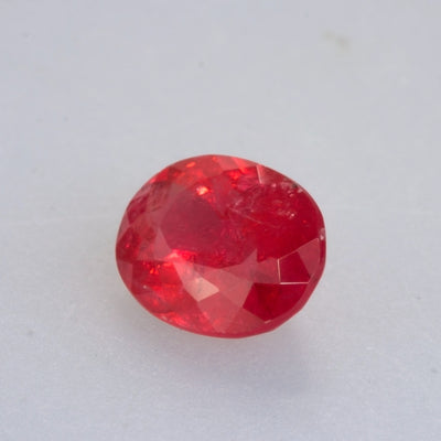 3.80ct Oval Cut Gem Quality Rhodonite (Extremely Rare)